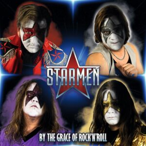 Starmen By The Grace Of Rock 'n' Roll (Cover Artwork)