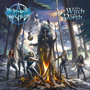 Burning Witches - The Witch Of The North (Cover Artwork)