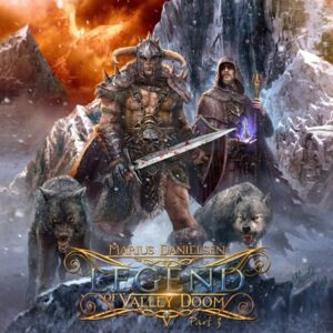 Marius Danielsen - Legend of Valley Doom Part 3 (Cover Artwork)