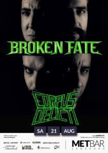 Broken Fate - Met-Bar Lenzburg 2021