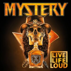Mystery – Live Life Loud (CD Cover Artwork)