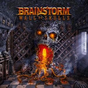 Brainstorm - Wall Of Skulls (Cover Artwork)