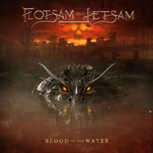 Flotsam And Jetsam - Blood In The Water (Cover Artwork)