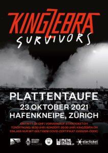 King Zebra Plattentaufe - Hafenkneipe Zürich 2021