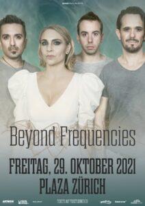 Beyond Frequencies - Plaza Zürich 2021 (Plakat)